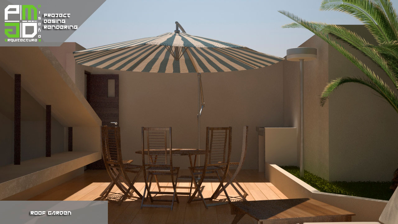 Roof Garden Pm Arquitectura Y Dise O