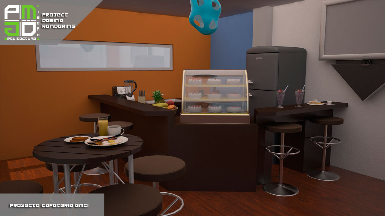 Cafeter A Emci Pm Arquitectura Y Dise O
